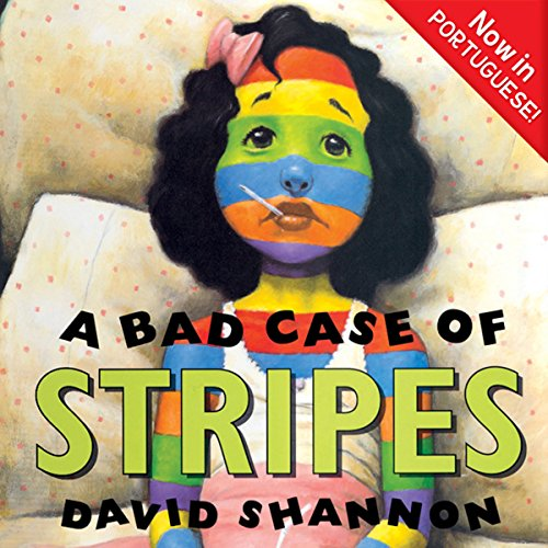 A Bad Case of Stripes audiobook cover art
