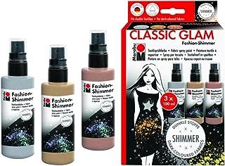 Marabu Spray Paint Fashion Shimmer Set C