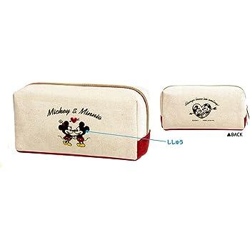 ディズニー BOX型刺繍ペンケース(ミッキー&ミニー)07845