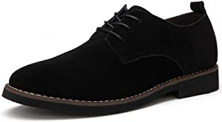 39-48 Flats Waterproof Dress Oxford Man Shoes Lace Up for Work Male Loafers RXM098