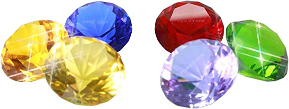 Star Cosplay Lord Infinity Gems Crystal Diamond Replica Avengers Props Gift Set