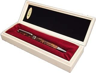樹齢千年 長寿 銘木 屋久杉高級泡瘤ボールペン 【屋久島の工房から直送なので安心・これが本物の屋久杉です】