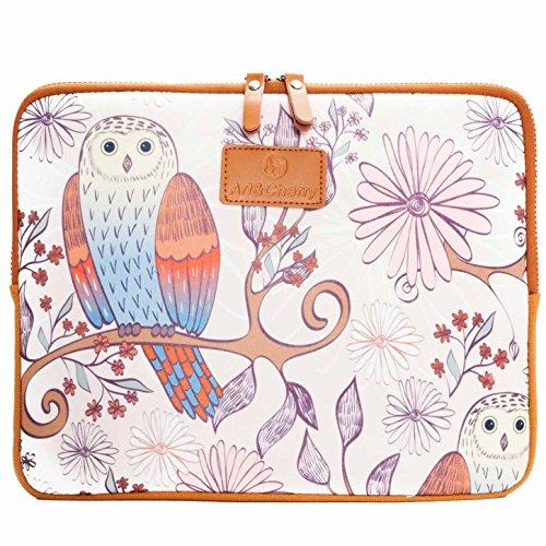 #DoYourMobile Schutzhülle Tasche Sleeve Case für Notebook/Laptop (14 Zoll) Notebooktasche Laptoptasche 36 x 27,5 cm/Motiv: schöner Vogel