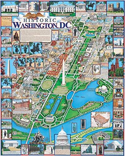White Mountain Puzzles Jigsaw Puzzle 1000 Pieces 24'X30'-Washington DC