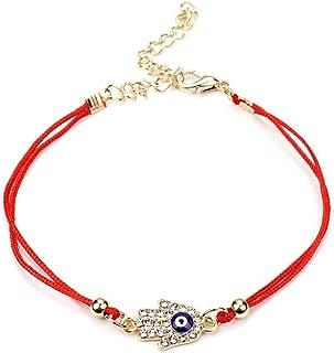 Lucky Red Strings Thread Hamsa Bracelets Blue Turkish Evil Eye Charm Handmade Women Friendship Jewelry Bijoux