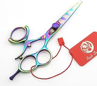 """5.5"""" Professional Hair Scissors Barber Hairdressing Scissor Double/Single Swivel Ring Shear"""