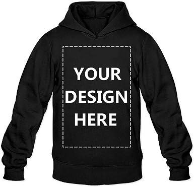 Amazon.com: Baranovo Men Custom Pullover Hoodie Design Your Own Hooded  Sweatshirt Customized Hoodies : Clothing, Shoes & Jewelry