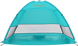Alvantor Beach Tent Coolhut Plus Beach Umbrella Sun Shelter Cabana Automatic Pop Up UPF 50+ Sun Shade Portable Camping Hik...