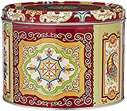 Nyakers Gingerbread Snaps Cookie Tin, Finest Ginger Snaps Original Flavor Swedish Cookie - Perfect Cookies on the Go - With Protective Insert - Classic Round - 750 Grams - 26.45 Ounce - 1.65 Pounds