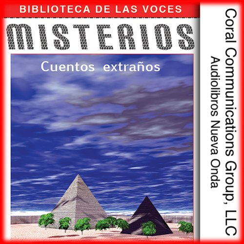 Misterios [Mysteries] audiobook cover art