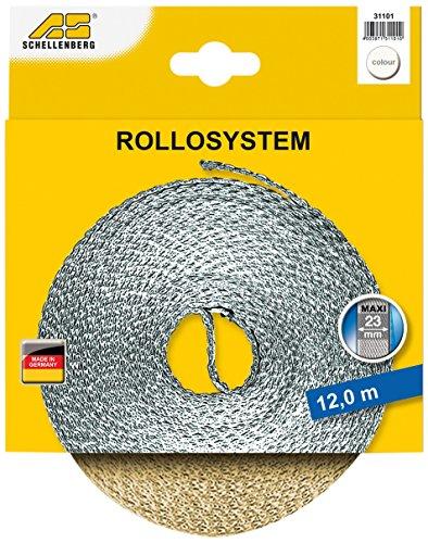 Rollladengurt Maxi Schellenberg 31101, 23mm/12m, beige