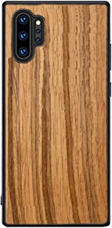FOLOU for Samsung Galaxy Note 10 Plus Case, Galaxy Note 10 Plus 5G Case Unique Real Handmade Natural Wooden Hard Bamboo Shockproof Case Cover Soft Wood Flexible Shock Resistant Cover