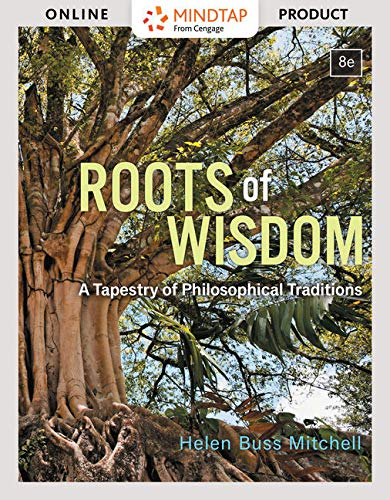 MindTap Philosophy, 1 term (6 months) Printed Access Card for Mitchell's Roots of Wisdom: A Tapestry of Philosophical Tr