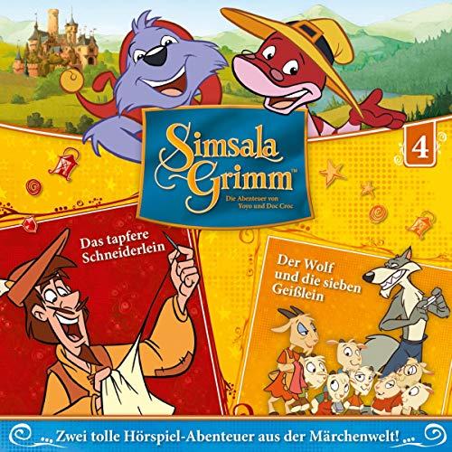 Das tapfere Schneiderlein / Der Wolf und die sieben Geißlein Titelbild