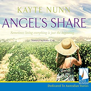 Angel's Share                   By:                                                                                                                                 Kayte Nunn                               Narrated by:                                                                                                                                 Karen Cass                      Length: 9 hrs and 23 mins     6 ratings     Overall 4.5