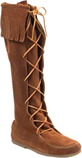 Best native american knee high moccasins Reviews