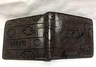 QTRT Naruto goffratura Raccoglitore del Fumetto del Anime Portafoglio PU Faux Leather Wallet Breve Coin Purse Adatto for P...