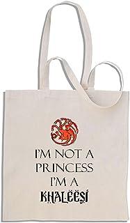 I'm Not A Princess I'm a Khaleesi - Game of Thrones - shopping bag di cotone