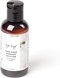 Eye Envy Tear Stain Remover Solution for Cats|100% Natural and Safe|Recommended by Breeders/vets/cat fanciers/Groomers|Contains colloidal Silver|Remove Stains from Fur on Persians and Exotics