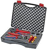 KNIPEX Werkzeugkoffer für Photovoltaik 97 91 01