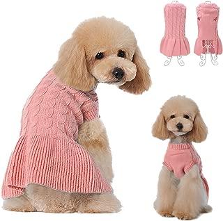 Didog Fashion Sweety Pretty Puppy Two Leg Sweater Classic Design Dress