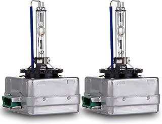 ECCPP High Power D3S D3R D3C Headlight Bulb 8000K Xenon Replacement Headlight Light