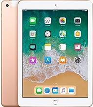 Apple iPad with WiFi, 128GB, Gold (2018 Model) (Renewed)