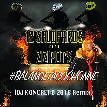 #Balancetacochonne (feat. Les Zizipot's) [DJ Koncret D 2018 RMX]