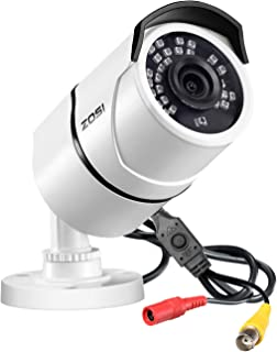 ZOSI 2.0MP FHD 1080p 1920TVL Security Camera Outdoor Indoor (Hybrid 4-in-1..