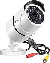 ZOSI 2.0MP HD 1080p 1920TVL Security Camera Outdoor Indoor (Hybrid 4-in-1 HD-CVI/TVI/AHD/960H Analog CVBS),36PCS LEDs,120f...
