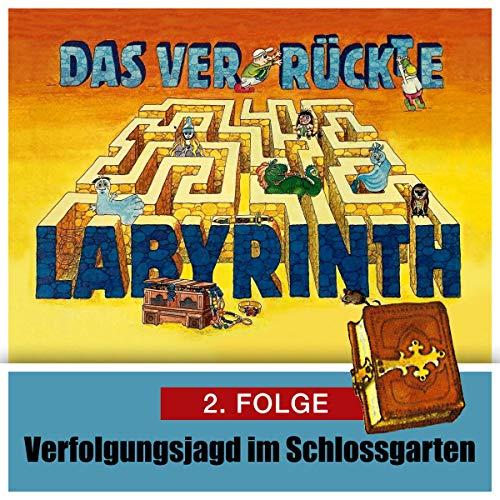 Verfolgungsjagd im Schloßgarten audiobook cover art