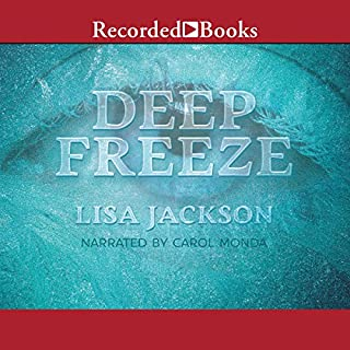 Deep Freeze audiobook cover art