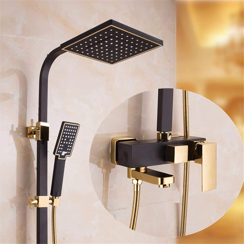 Cxmm Europischen Stil Bad Dusche Set alle Kupfer Dusche heien und kalten Hahn showerd