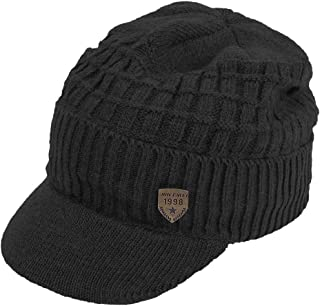 Best mens knit hat with visor Reviews