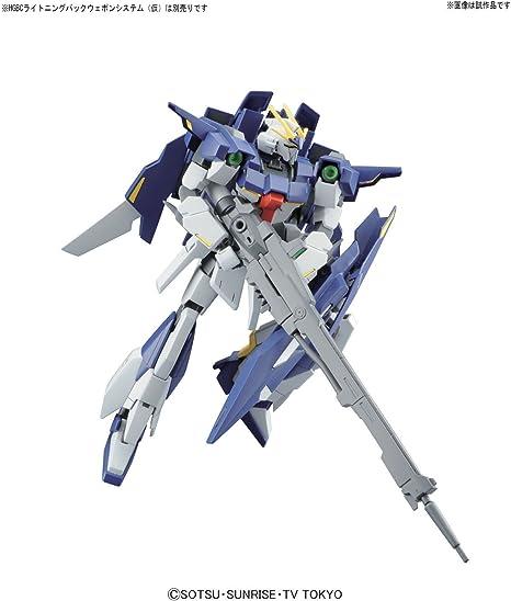 BANDAI Gundam High Grade HGBF #20 Lightning Gundam Build Fighter 1//144