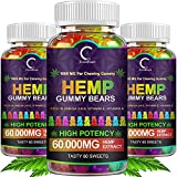 Fun and Delicious - GPGP Greenpeople hemp gummies were created for those who seek a delicious and powerful health supplement! Our hemp candies are specially designed in extremely cute shapes and infused with the highest quality hemp oil. Enjoy the sw...