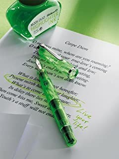 Pelikan Classic 205BB M Fountain Pen with Ink Glass Green