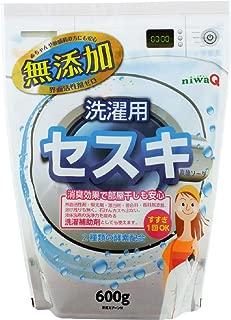 niwaQ 洗濯補助用セスキ炭酸ソーダ 600g