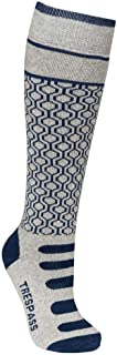 Trespass Girls & Boys Concave Supportive Snowsport 2 Pack Skiing Socks