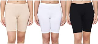 DS FASHION Women Cycling Shorts (Pack of 3)