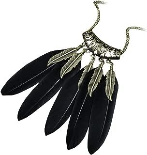 [ファスナシオン] 全6色 ネックレス フェニックス ウイング メンズ ブラック
