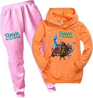 Raya and The Last Dragon Game - Pantalones deportivos unisex para niños
