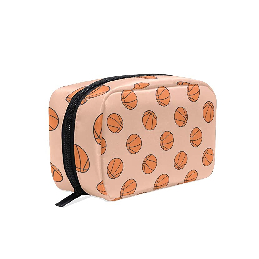 Basketball Hoop Hamper Travel Toiletry Bag Small Cosmetic Case Toiletry Storage Bag Versatile Travel Cosmetic Bag For Women Girls