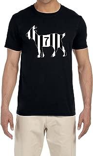 Tobin Clothing Black Ronaldo Goat T-Shirt