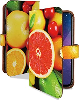 dynapocket X02T ケース 手帳型 グレープフルーツ 食べ物 くだもの スマホケース ダイナポケット 手帳 カバー dyna pocket x02t x02tケース x02tカバー フルーツ グレープ フルーツ柄 グレープフルーツ柄 [グレープフルーツ/t0136a]