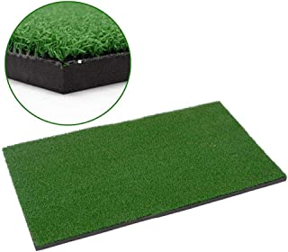 Decdeal Backyard Golf Mat أدوات التدريب للجولف في الهواء الطلق وداخلي الضرب حصيرة ممارسة العشب حصيرة التدريب الجولف Grassr...