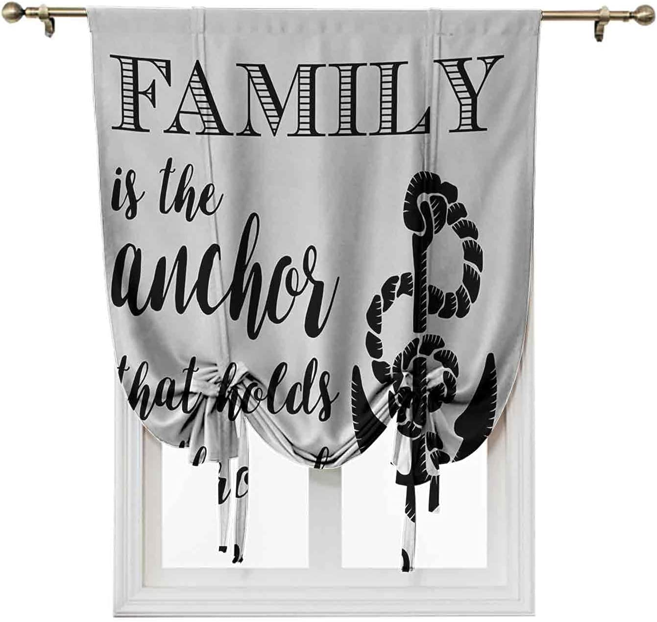Family Roman Window Shades, Thermal Insulated Blinds and Shades,