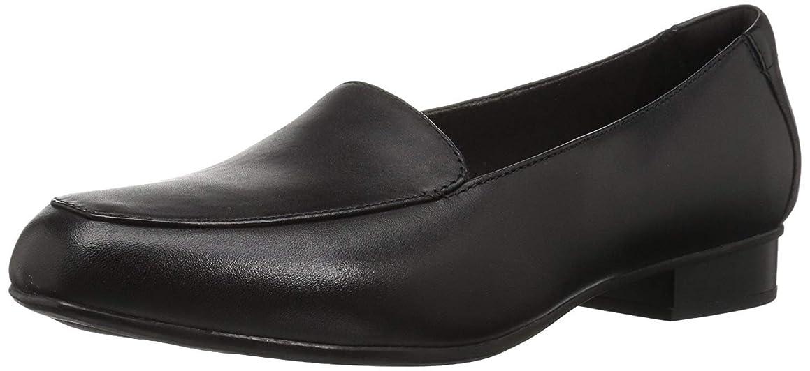 適用する海港サスペンション[クラークス] レディース 女性用 シューズ 靴 ローファー ボートシューズ Juliet Lora - Black Leather [並行輸入品]