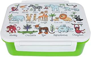 Tyrrell Katz Jungle Animals lunch box Boy's by LK Gifts and Homewares