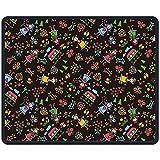 Mauspad Mädchen Gartenhaus Baum Blumen Rechteck Gummi Mousepad Länge 18 x 22 CM Gaming Mauspad Für Kreatives Geschenk